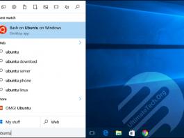 Linux Commands for Ubuntu Bash Shell on Windows 10
