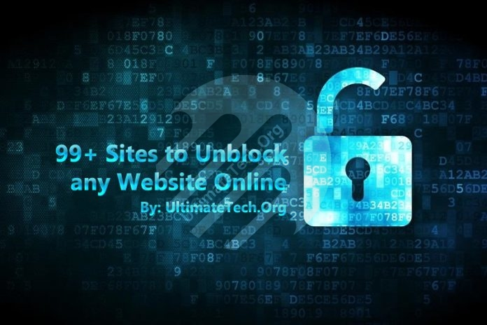 List of 99+ Sites to Unblock any Website Online
