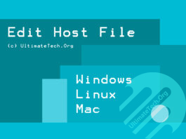 How to Edit Host File? [Windows/Linux/Mac]