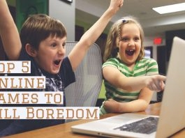 Top 5 Online Games to Kill Boredom