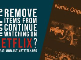 How to Remove Items from Continue Watching on Netflix?